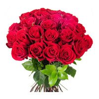 Same Day Flowers to India containing Red Roses 24 Flowers to India