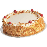 Cake to India Same Day Delivery - Butter Scotch Cake From 5 Star