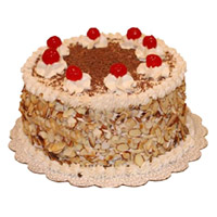 Send Online Cake to India - Butter Scotch Cake From 5 Star