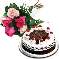 Send Cake to Kochi for your wife on Her Anniversary