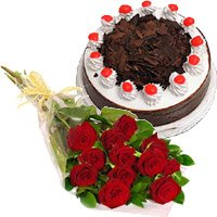 Send Eggless Cakes to India - Flowers to India
