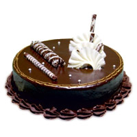 Send Cakes to India comprising Chocolate Truffle Cake From 5 Star