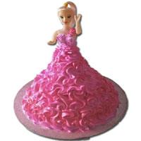 Barbie Doll Cake in India