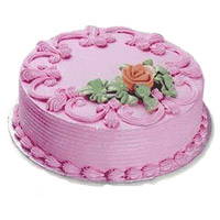 Deliver Cake in India - Strawberry Cake From 5 Star