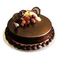Deliver Cakes in India - Chocolate Truffle Cake From 5 Star