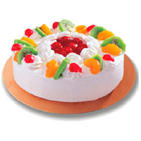 Cake to India Online including 2 Kg Fruit Cake From 5 Star Bakery