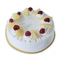 Deliver Cakes to Meerut - Pineapple Cake