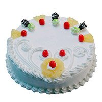 Deliver Eggless Cake in India - Pineapple Cake