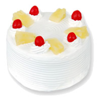 Send Cake to India - Pineapple Cake