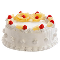Cake Delivery in India - Pineapple Cake From 5 Star