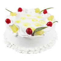 Buy Cakes to India - Pineapple Cake From 5 Star