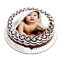 Same Day Cake to India including 1 Kg Photo Cake in India