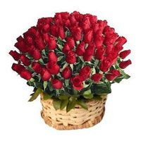 Roses Basket to India
