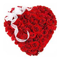 Heart Shaped Flowers to India