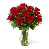 Flowers in Vase to India