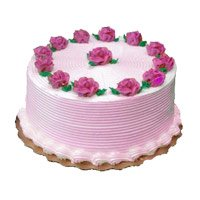Cake Delivery in Ghaziabad - Strawberry Cake