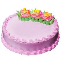 Deliver Cake to India - Strawberry Cake