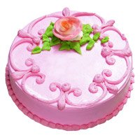 Cakes to India Same Day Delivery - Strawberry Cake in India