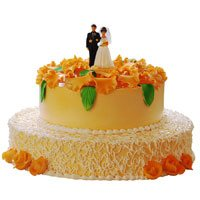 Send Wedding Cake to India - Tier Cake
