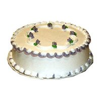 Send Cake to Ghaziabad - Vanilla Cake
