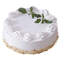 Deliver Cakes in India - Vanilla Cake From 5 Star
